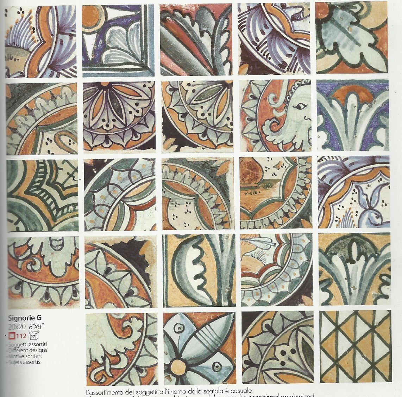Corti di canepa 20x20 faetano for Ceramica faetano