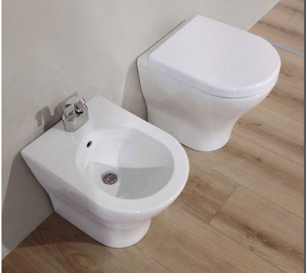 Ceramica flaminia vaso filo parete bidet filo parete - Sanitari bagno flaminia ...