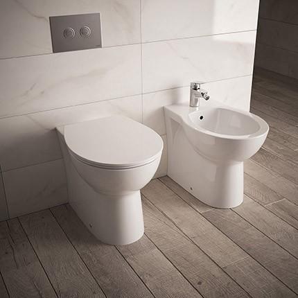 Vaso bidet coprivaso filo parete dolomite quarzo - Sanitari bagno dolomite ...